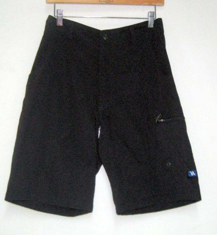 Hurley Men's Quick Dry Shorts Navy Blue Size 28 NEW