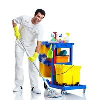 Cleaner availabe any time