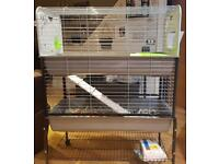 Brand new double story guinea pig/ rabbit cage please no time wasters open to offers