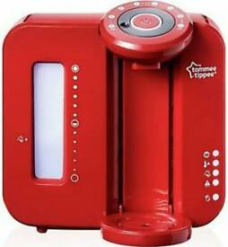 Tomme tippee perfect prep machine red