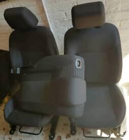 Ford Fiesta Cloth Seats 2008-2017 MK7 MK7.5
