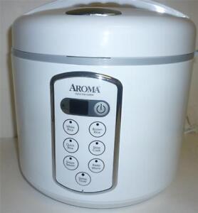 deal aroma professional 4 20 cups rice cooker or 3 qt slow cooker arc 2000a ebay. Black Bedroom Furniture Sets. Home Design Ideas