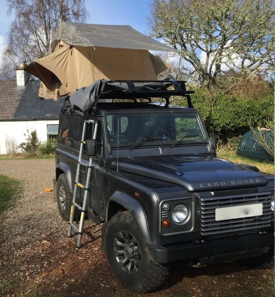 Roof Tent for sale would suit Landrover of VW Transporter etc will fit standard & Roof Tent for sale would suit Landrover of VW Transporter etc ...