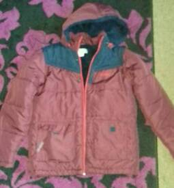 Boys thick coat age 11 - 12