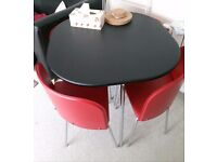 Hygena Amparo Dining table & 4 chairs