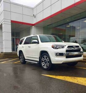 2016 Toyota 4Runner Limited DEMO 4RUNNER LIMITED 2016