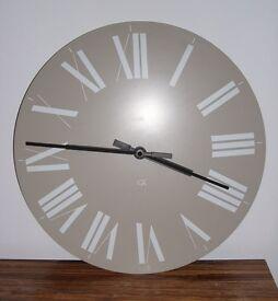 Alessi Firenze Wall Clock – White on Beige