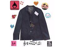 ASOS Mens Navy Military Blazer * Brand New * 40R / Medium - Retail Price £70
