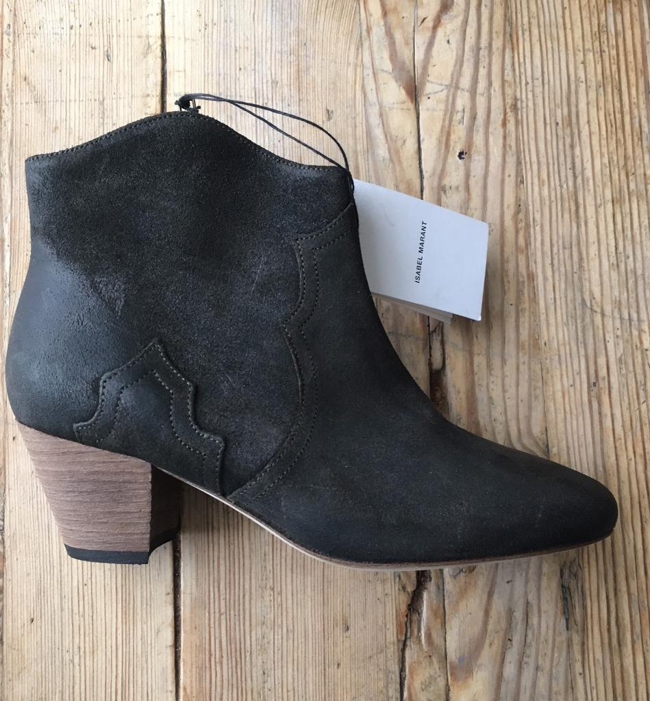 34ebf9b4e3c Isabel Marant NEW suede dicker boots size 40 | in Leytonstone ...