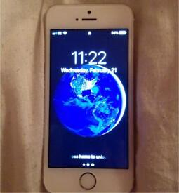 Gold 16gb iPhone 5s - works perfectly