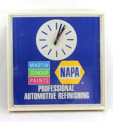 Vintage Napa Auto Parts Advertising Clock