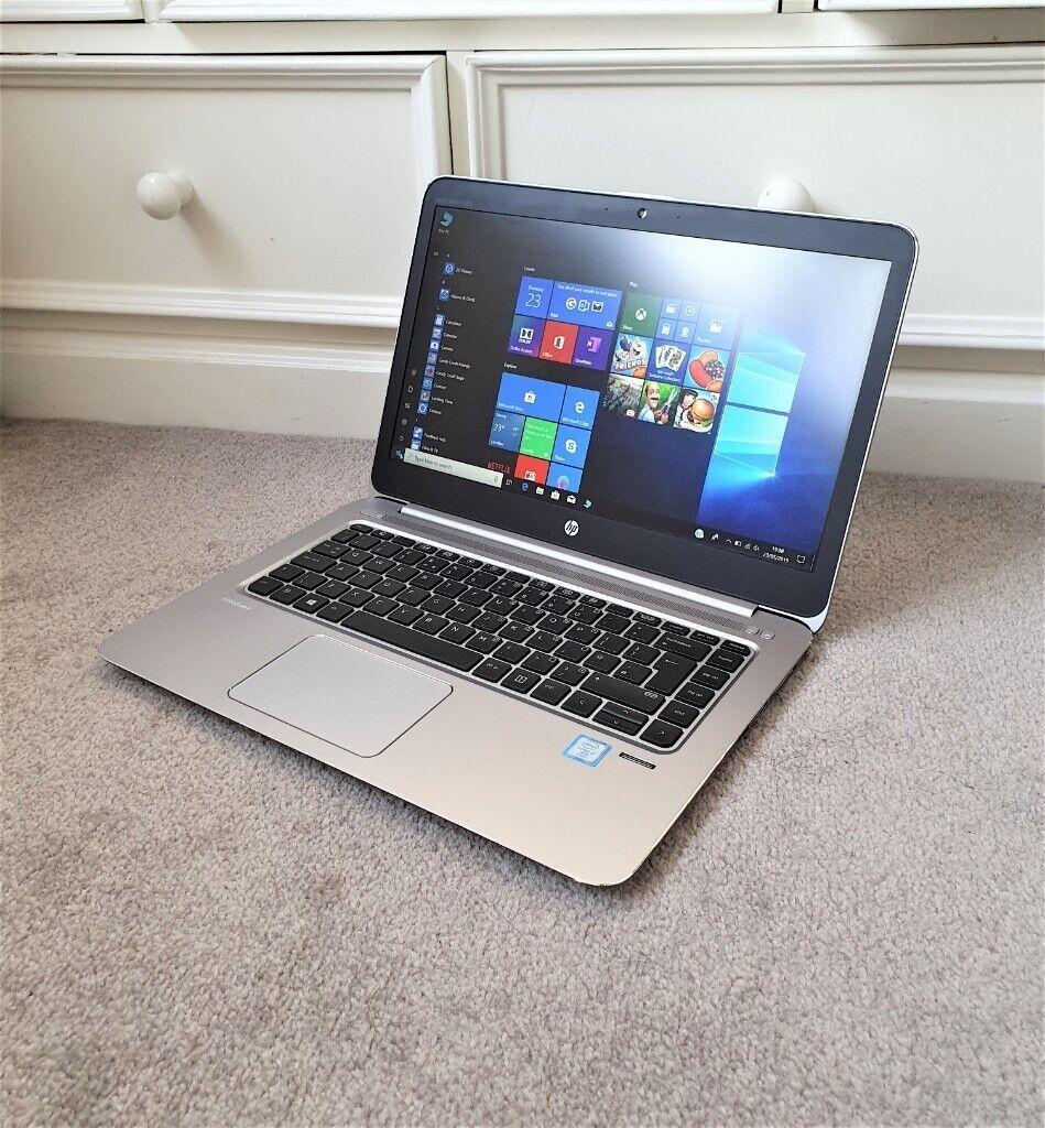 HP EliteBook Folio 1040 G3 Core i7 6th Gen 8GB RAM 256GB SSD 14-inch Full  HD Laptop, UltraBook | in Kingston, London | Gumtree