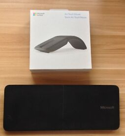 Microsoft Arc Touch Mouse + Microsoft Mobile Keyboard
