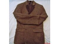 MEN'S SUMMER TWEED JACKET, NEW UNUSED SIZE MEDIUM