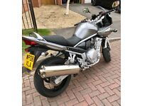 2008 650 Bandit low mileage garaged and never used when wet