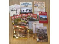 job lot 15 steam train magazines and Hornby model railway magazines + leaflets