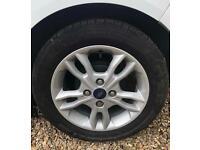 Ford Fiesta Standard ecoboost wheels