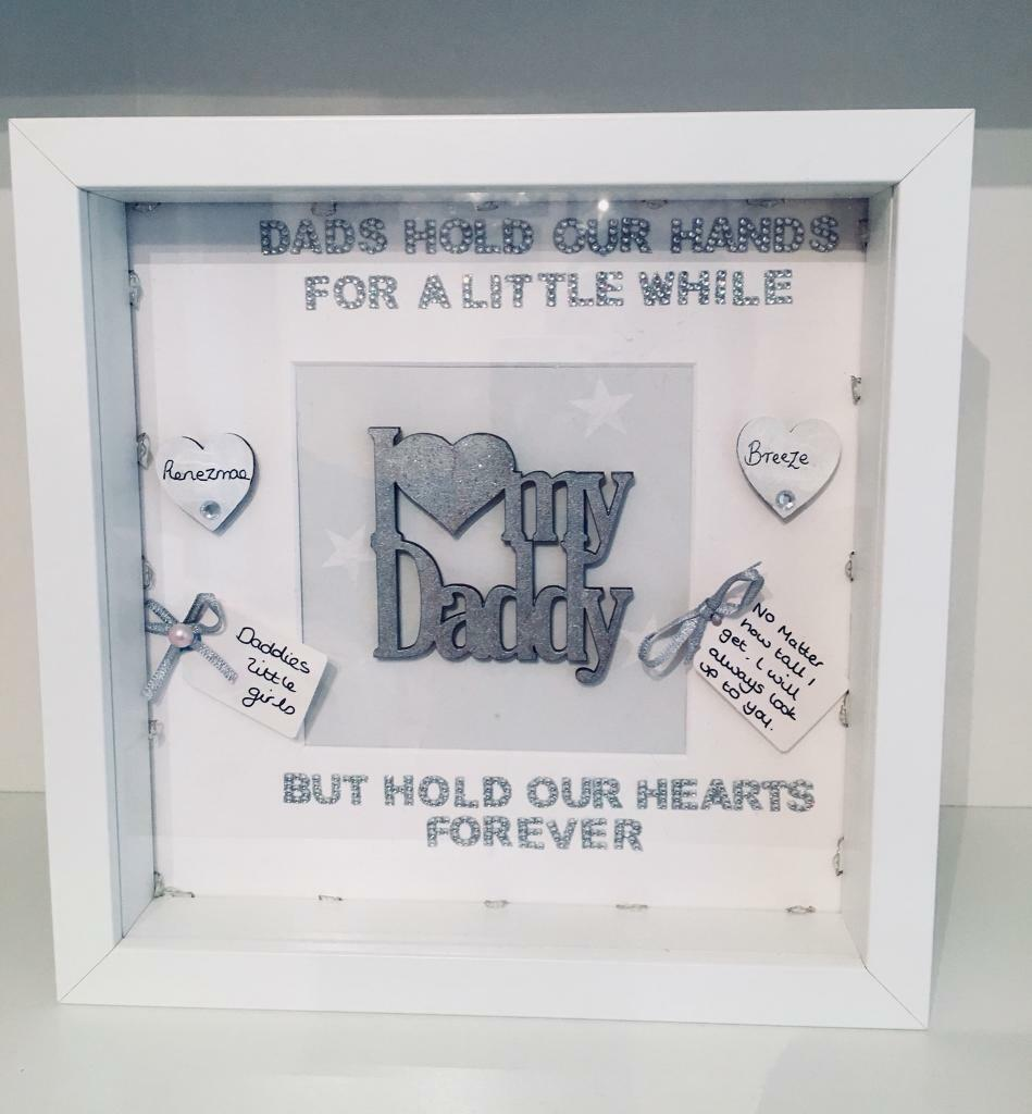 Personalised box frames memorial fathers day scan new baby personalised box frames memorial fathers day scan new baby family tree jeuxipadfo Choice Image