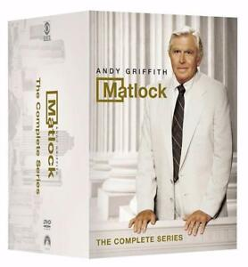 DVD -  Matlock: The Complete Series
