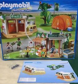 Playmobil camp site , tent set