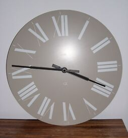 Alessi Firenze Wall Clock – White on Beige