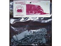 Dapol OO/HO Scale Trackside Model Kit with alternative B. R. Flat bed Trailer - Scammell Scarab