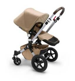 Bugaboo Cameleon Sand Travel System Single Seat Stroller