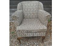 Elegant Old Tub Chair