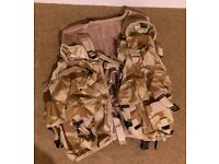 British Armed Forces General Ops Assault Vest in Desert DPM