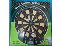 Electronic dart board game brand new unwanted gift