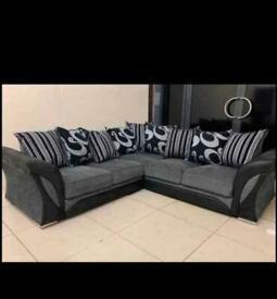 ❤️⚫️ SHNNON corner +3+2 seater sets at bargain price now💖❤️