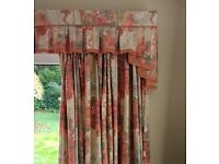 Two pairs of matching curtains