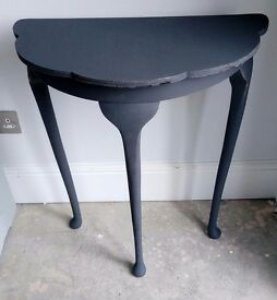 Hall table - painted shabby chic