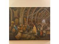 Original Oil Painting (traditional bazaar)