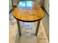 Dining table - kitchen - bespoke - unusual - potential