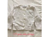 Baby girls cardigans - immaculate condition. See images for detail