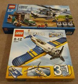£30 PER SET Lego City & Lego Creator £30 PER SET.