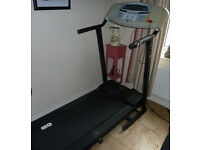 V-FIT TREADMILL IN EXCELLENT WORKING ORDER,FOLDS FOR EASE OF STORAGE