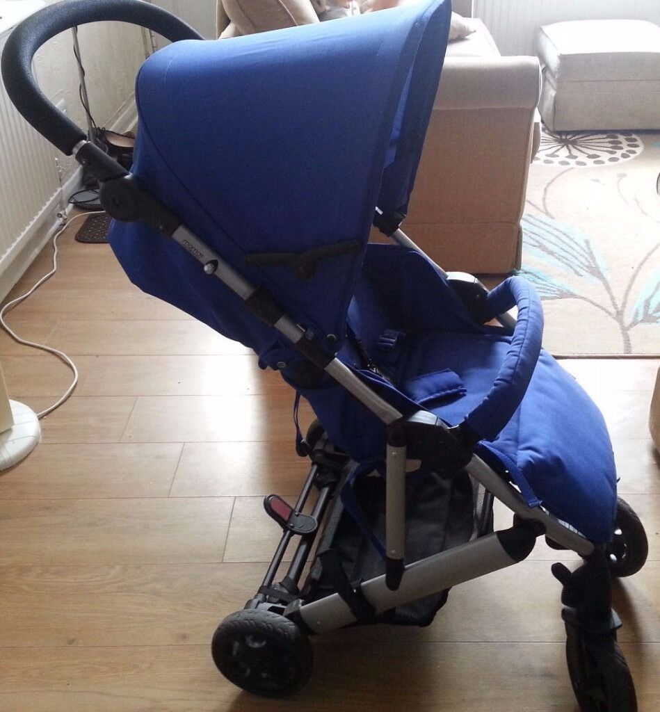 Mamas and papas blue luna lightweight pushchair