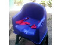 LITTLE STAR CHAIR BOOSTER SEAT FOR USE FROM 6 MONTHS OLD