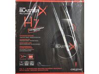 Creative Sound BlasterX H7 Tournament Edition Gaming Headset PS4/XBOX/PC - Brand New