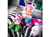 Baby girl toys walker/ pushchair