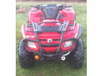 Can Am Outlander 400EFI Quad Bike 4x4 Farm Utility Off Road Quad ATV