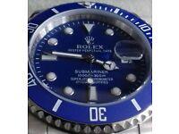 2017 Blue face Submariner Rolex