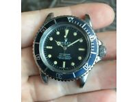 Eta 5512 Submariner Watch Build Vintage Great Quality