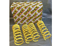 GENUINE APEX LOWERING SPRINGS TOYOTA MR2 MK3 ZZW30 ROADSTER MR-S BRAND NEW 30MM DROP