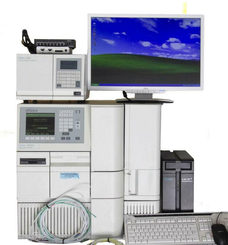 Waters 2690D Separations Module w/ 2487 Dual λ Absorbance Detector HPLC (7581)R