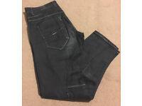 Men's Black Jeans - 32 regular