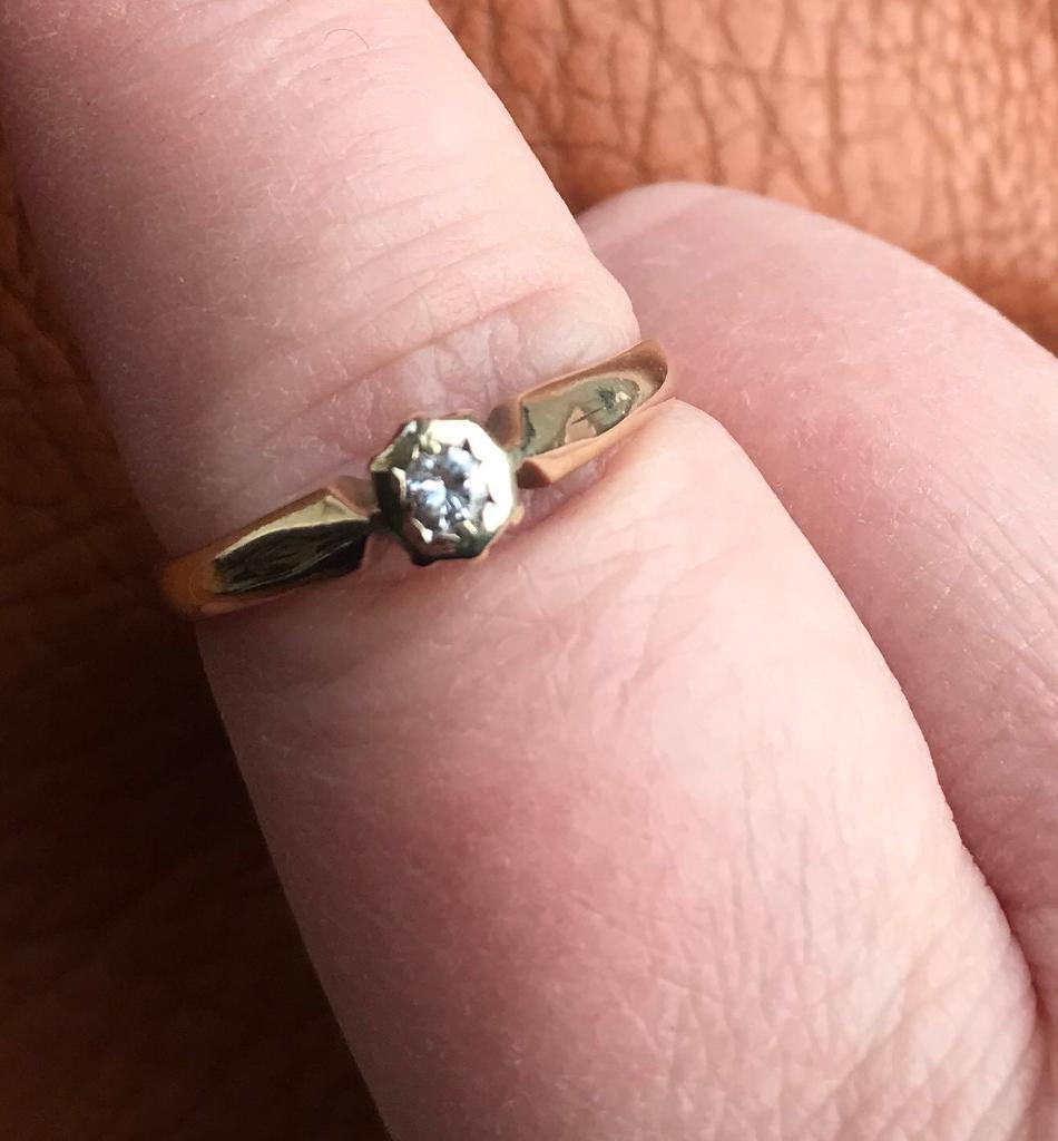 9ct diamond engagement ring | in Hull, East Yorkshire | Gumtree