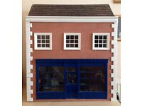 Collectors Dolls House - Haberdashery Shop, fully furnished + working lighting